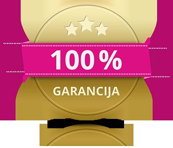 100 % garancija