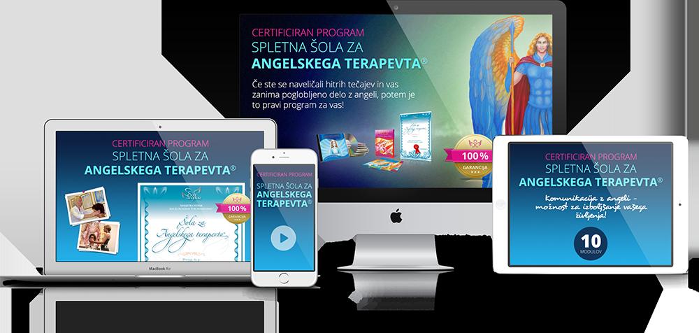 Spletna šola za angelskega terapevta
