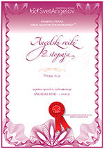 Angelski Reiki - diploma